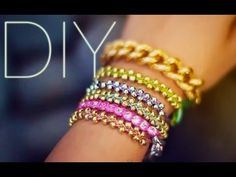#DIY beaded stacking bracelets <3