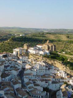 Castillo de Setenil de las Bodegas. Cádiz.