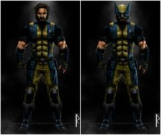 It's only a matter of time before the X-Men and the Fantastic Four show up in the MCU, and these fan designs show us what they might look like. Tom Hardy Wolverine, Wolverine Art, Logan Wolverine, Marvel Vs, Marvel Heroes, Marvel Comics, Marvel Characters, Fantasy Characters, Wolverine Cosplay