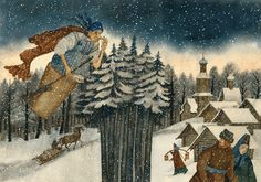 Children's Book Illustration by Russian Artist Vera Pavlova ~ Blog of an Art Admirer