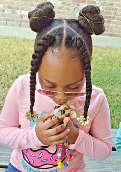 Can You Ignore These 75 Black Kids Braided Hairstyles? - Curly Craze - Can You Ignore These 75 Black Kids Braided Hairstyles? – Curly Craze Can You Ignore These 75 Black Kids Braided Hairstyles? Black Kids Braids Hairstyles, Lil Girl Hairstyles, Natural Hairstyles For Kids, Braids For Black Hair, Toddler Hairstyles, Girl Haircuts, Curly Hair Styles, Short Hair Styles Easy, Natural Hair Styles