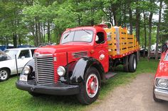 1947 International KB-6 stake truck | Flickr - Photo Sharing!