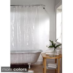 Shop for Maytex No Mildew Vinyl Shower Curtain Liner. Free Shipping on orders…