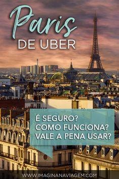 Como é o Uber em Paris? O serviço é bom? Quais são os carros utilizados? É melhor que táxi? Custa caro? Vale a pena usar? O Imagina na Viagem respondeu estas e outras perguntas... confira!  Paris | França | France | Viagem | Turismo | O que fazer em | Dicas de Viagem | Como se locomover | Uber | Táxi | Ônibus | Imagina na Viagem.
