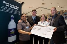 World Duty Free, over £1m donated through the sale of our water #legends