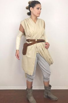 Diy rey halloween costume star wars hair tutorial pinterest the most popular halloween costumes of 2016 are easy to diy solutioingenieria