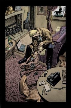 Hellblazer 259 page 2 by gammahed on deviantART