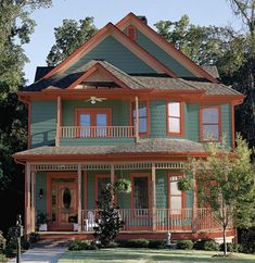 Paint Colors for Exteriors #housepaint More at - Stylendesigns.com!