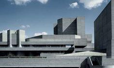 The Royal National Theatre - Sir Denys Lasdun #modern #architecture