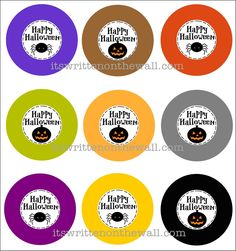 (Freebie) Halloween Gift tags to use on your Teacher Appreciation gifts, or for family or trick or treaters. See our version of the ROLO Candy Pencils for teacher.