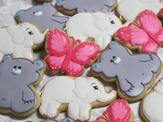 Animal Friends Springtime Decorated Sugar Cookie Collection