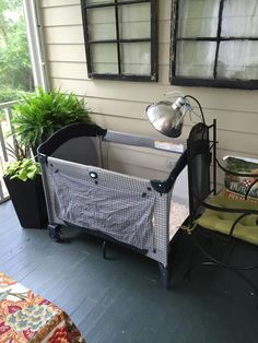 Raising chickens? Try using a Pack-n-play for a brooder for the baby chicks…