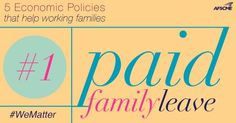 On #WomensEqualityDay we're talking about paid family leave http://afsc.me/1tRWzbZ  #1u #WeMatter  - AFSCME