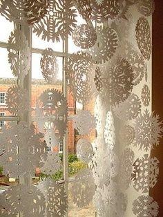 Snow flakes, doilies..?