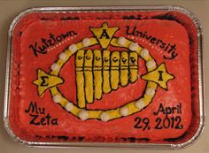 Sigma Alpha Iota Cake!....that was our cake! :)
