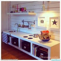 the boo and the boy: play kitchens