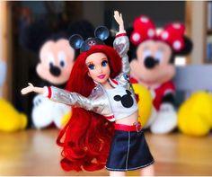 Disney Barbie Dolls, Ariel Doll, Disney Princess Dolls, Disney Princesses, Disney Characters, Disney Pixar, Doll Repaint, Disney Merchandise, Princesas Disney
