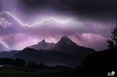 Watzmann - Bavaria - Lightnig - Thunder by Herzflimmern