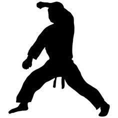 Martial Arts Wall Decal Sticker 18 - Decal Stickers and Mural for Kids Boys Girls Room and Bedroom. Karate Sport Wall Art for Home Decor and Decoration - Martial Art Kung Fu Taekwondo Silhouette Mural Wall Stickers Murals, Wall Decal Sticker, Volleyball Drawing, Karate Boy, Living Room Murals, Boy Girl Room, Murals For Kids, Simple Wall Art, Sports Wall