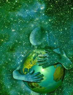 I absolutely love this picture. It expresses how I feel about our planet Earth, our beautiful home and caring for her. Our Planet, Planet Earth, Mother Earth, Mother Nature, Psy Art, We Are The World, World Peace, Peace On Earth, Art Furniture