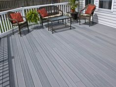 Grey Painted Wooden Decks : Painting Your Wooden Decks