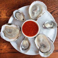 Oysters - Momofuku, NY