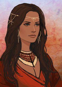 Malika by Kvlticon.deviantart.com on @DeviantArt