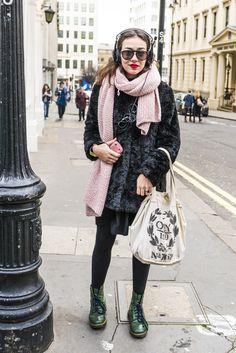 CLR Street Fashion: Fleur in London #streetstyle