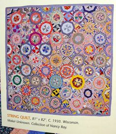 nifty quilts: Spiderweb quilt