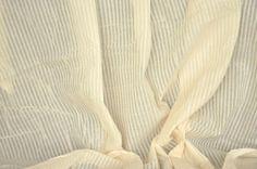 UNBLEACHED ORGANIC COTTON Fabric. Seer Sucker. Summer tops, light dresses.. $7.75, via Etsy.