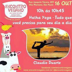 Buenooos Dyyyyas  Seiixta!! 🙌🏼🌽🌽 domingo tem encontro vegano 👽💚🌱 ⠀ Mês passado eu fui e foi muito dilicia! Tem yoga e palestras a partir das 10h e depois rola a comilança 🌳🍌🍞🍚 ⠀ Indico para veganos, vegetarianos, ovíparos, quadrúpedes, onívoros e o baile todo! ⠀ ⠀ Sai preconceito! Vem conhecer!!!!!! ⠀⠀ #encontrovegano #yoga #preconceitonão #comidavegana #receitasveganas #vidaposveg  Yummery - best recipes. Follow Us! #veganfoodporn