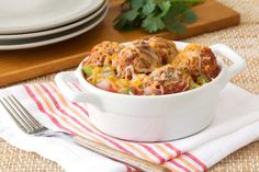 Hungry Girl's Healthy Skillet Taco Meatballs Recipe