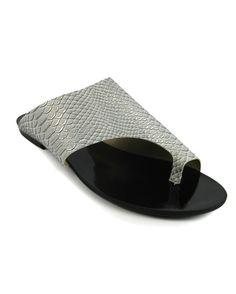 RASTEIRA GEOMETRICA PRATA |Bella Bella Shoes