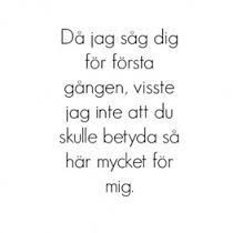 om du visste hur mycket jag älskar dig - Sök på Google | Him from Syber ☆ | Pinterest | Om, Google and Poem Quotes For Him, Love Quotes, Swedish Quotes, Learn Swedish, Positive Phrases, Qoutes About Love, My Philosophy, Different Quotes, Girly Quotes