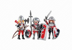 Playmobil Add-On Series - 3 Hawk Knights. This item is part of the Playmobil Direct Service Range (Add-on Series). Items in this range of products are packaged in a clear plastic bag or brown cardboard box. They do NOT come in colorful retail packaging. Please consider this when gifting. Items in this range of products are intended as accessories for or additions to existing Playmobil sets. The series is growing in popularity and can certainly be enjoyed as stand-alone items as well.