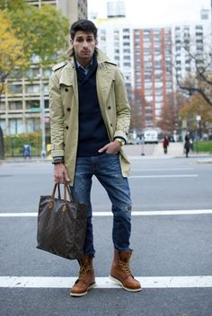 Trench. #style #fashion #men