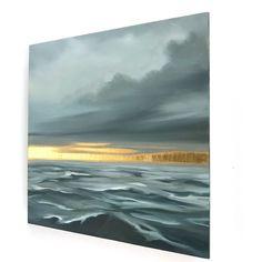 Watercolor Landscape, Landscape Art, Landscape Paintings, Gold Art, Painting Inspiration, Modern Art, Abstract Art, Fine Art, Art Images