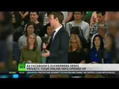Zuckerberg seeks privacy at home, searchability online