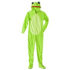 Women's Frog Footie Pajama - Green