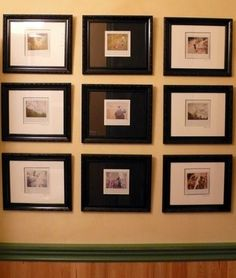 10 ways to display polaroids