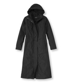 H2OFF Raincoat, Mesh-Lined Long