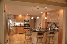 Corner Stove Top Transitional Kitchen Wigfield Nashua NH
