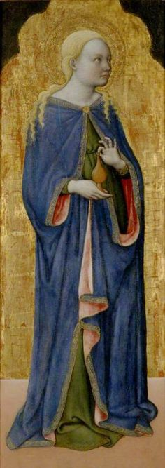 St Mary Magdalen Francesco de' Franceschi (active 1443–1468) The Ashmolean Museum of Art and Archaeology