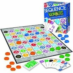 Pre-algebra games that build number sense  I love Sequence, so I am guessing this is good too!