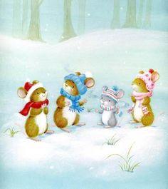 Cuteness in winter.