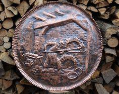 Copper framework baker baked handmade work - Modifica inserzione - Etsy