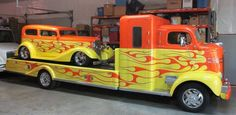 More Vintage Cars, Hot Rods, and Kustoms Hot Rod Trucks, Tow Truck, Cool Trucks, Big Trucks, Pickup Trucks, Cool Cars, Chevy Trucks, Custom Trucks, Custom Cars