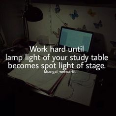 motivation to study quotes Study Hard Quotes, Study Motivation Quotes, Motivation Inspiration, Study Inspiration Quotes, College Motivation, Style Inspiration, Reality Quotes, Life Quotes, Success Quotes