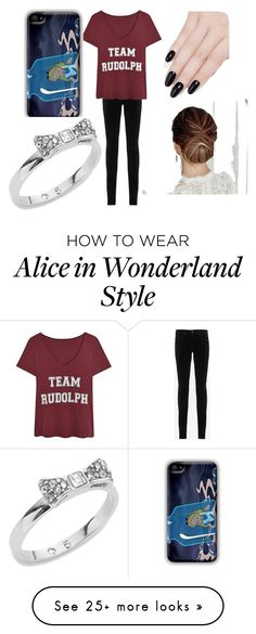 """Untitled #94"" by lolol-gg on Polyvore featuring AG Adriano Goldschmied, ncLA and Kate Spade"