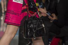 Moschino at Milan Fashion Week Fall 2018 - Details Runway Photos